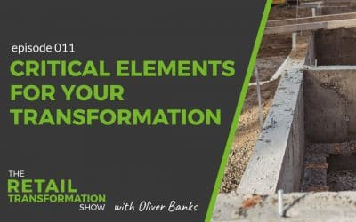 011: 3 Critical Foundations for Successful Transformation