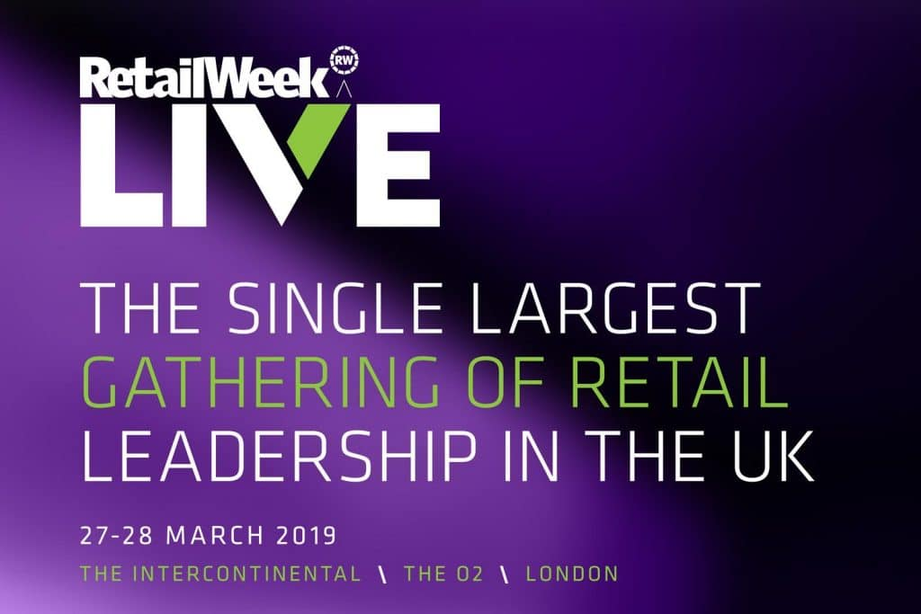 Retail Week Live - the single largest gathering of retail leadership in the UK