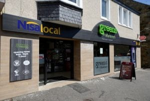 Nisa Independent Grocery Retail Store - with Greens of Markinch